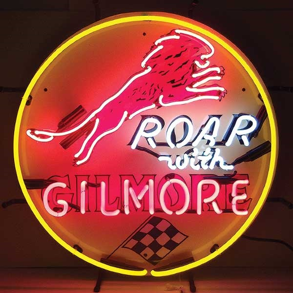 Gilmore Gasoline Neon Sign