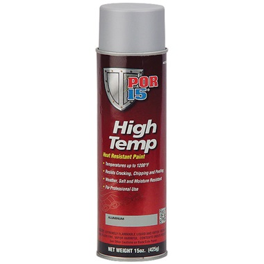 POR-15® High Temp Paint - Aluminum, 15 oz Spray