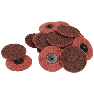 "3"" Quick-Change Surface Conditioning Discs - Med, Maroon -  25 Pk"