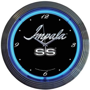 Impala Neon Wall Clock
