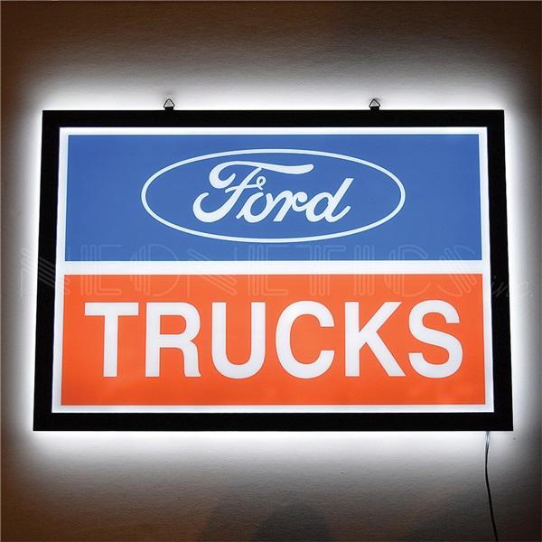 Ford Trucks Slim Line LED Sign