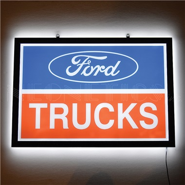 Ford Trucks Slim Line LED Sign