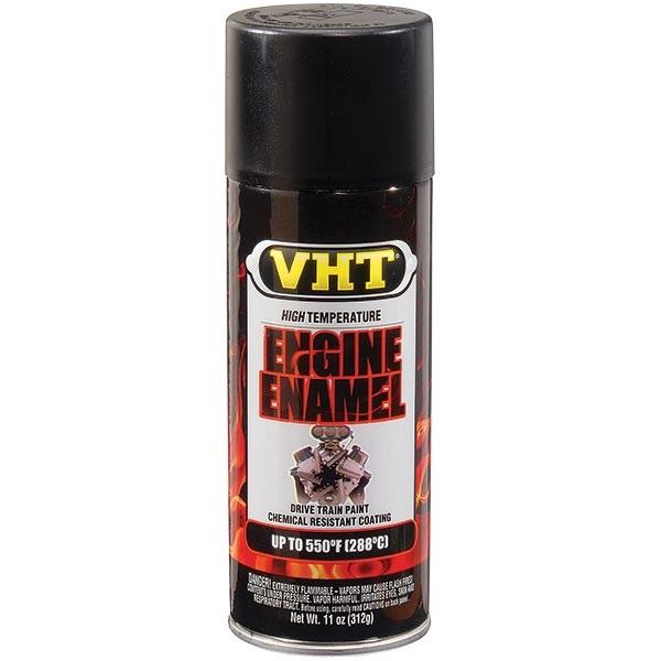 VHT® 550°F Engine Enamel - Flat Black, 11 oz