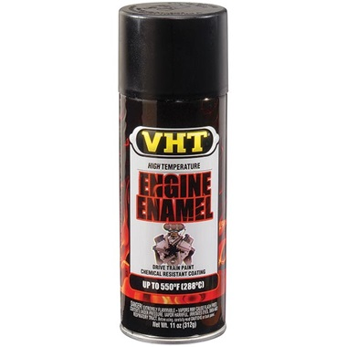 VHT® 550°F Engine Enamel - Flat Black, 11 oz