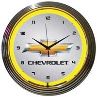 Chevrolet Neon Wall Clock