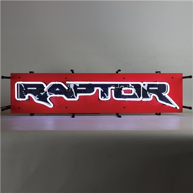 Ford Raptor Junior Neon Sign