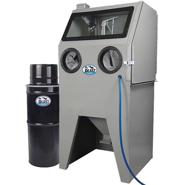 USA SKAT CAT 28 Abrasive Blast Cabinet with Vac-50 Vacuum