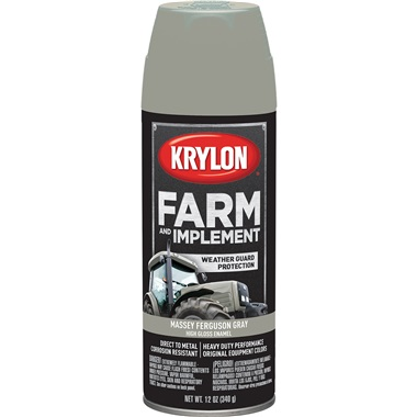 Krylon® Farm & Implement Paint - Massey Ferguson Gray, 12 oz