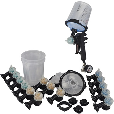 3M™ Performance Spray Gun System with PPS™ 2.0 Disposable Cup Kit