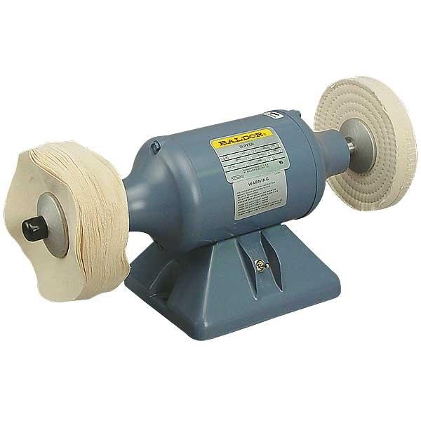 Baldor 1 3hp Bench Mount Buffer Tp Tools Equipment