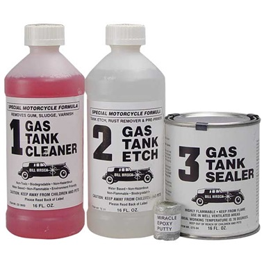 How do you fix a leaking gas tank?