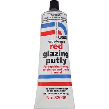 USC® Red Glazing Putty