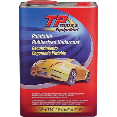 TP Tools® Quick-Dry Rubberized Undercoating, Gallon