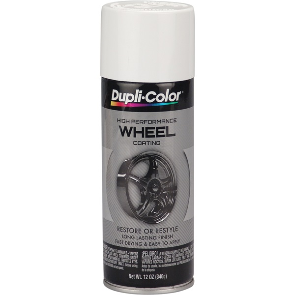 Dupli-Color® Wheel Paint - White, 12 oz