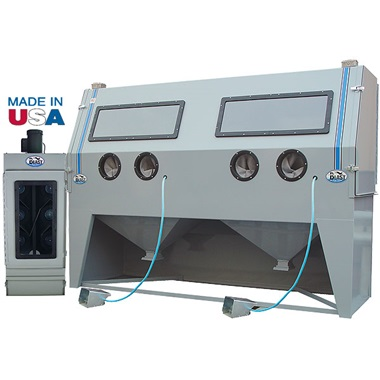USA 1836 Double Duty Abrasive Blasting Cabinet