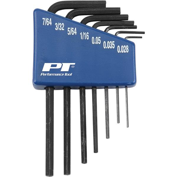 Performance Tool® 7-Pc Metric Micro Hex Key Set