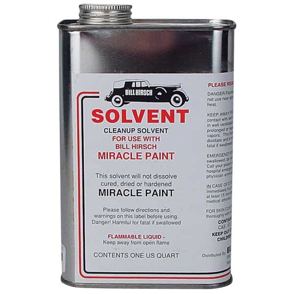 Bill Hirsch Miracle Solvent