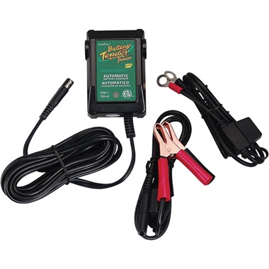 12-Volt Battery Tender® Junior High-Efficiency Battery Charger/Maintainer