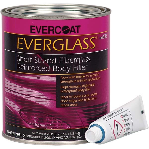 Evercoat® Everglass® Fiberglass Body Filler, Quart
