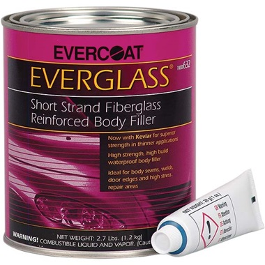 Evercoat® Everglass® Fiberglass Body Filler, Quart