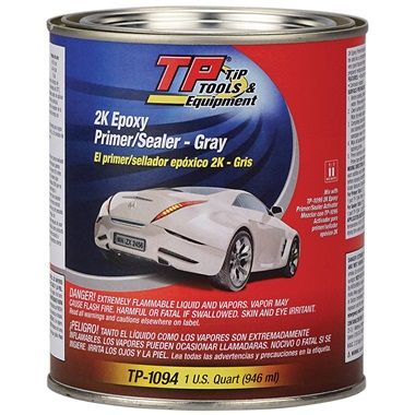 TP Tools® 2K Direct-to-Metal (DTM) Epoxy Primer/Sealer - Gray, Qt