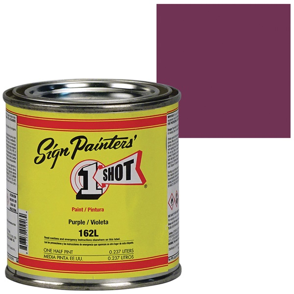 1 Shot® Lettering & Pinstripe Enamel Paint - Purple