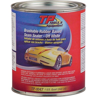TP Tools® Auto Body Seam Sealer - Off-White, Qt