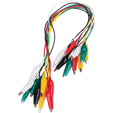Performance Tool® 10-Pc Multicolor Test Lead Kit