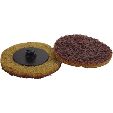"2"" Quick-Change Surface Conditioning Disc - Coarse, Gold - Ea"
