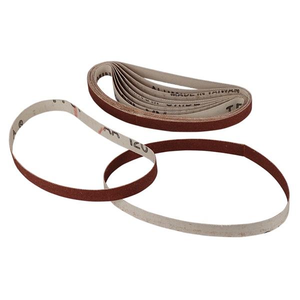 "120 Grit Sanding Belt - 3/8"" x 13"""