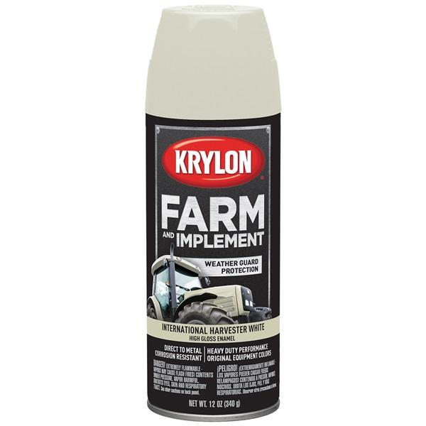 Krylon® Farm & Implement Paint - International Harvester White, 12 oz