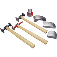 TP Tools® Pro-Series 7-Pc Hammer & Dolly Kit