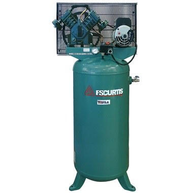 FS-Curtis 5HP, 4-Cyl, 1-Stage 60-Gal Air Compressor