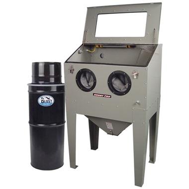 HOBBY PRO HP-75 Blast Cabinet & Vac-50 HEPA Vacuum Kit