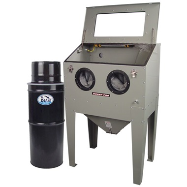 HOBBY PRO HP 75 Blast Cabinet U0026 Vac 50 HEPA Vacuum Kit
