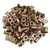 10-24 Zinc-Plated Steel Rivet Nuts - 100Pk
