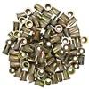 "3/8""-16 Zinc-Plated Steel Rivet Nuts - 100Pk"