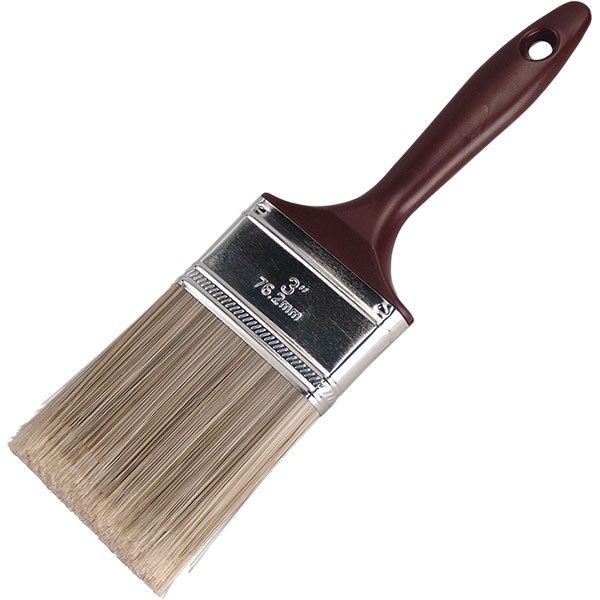 """3""""W Polyester Paint Brush"""