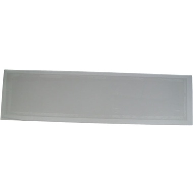 """Extra-Large 12"""" x 45"""" Tempered Glass Cabinet Lens"""