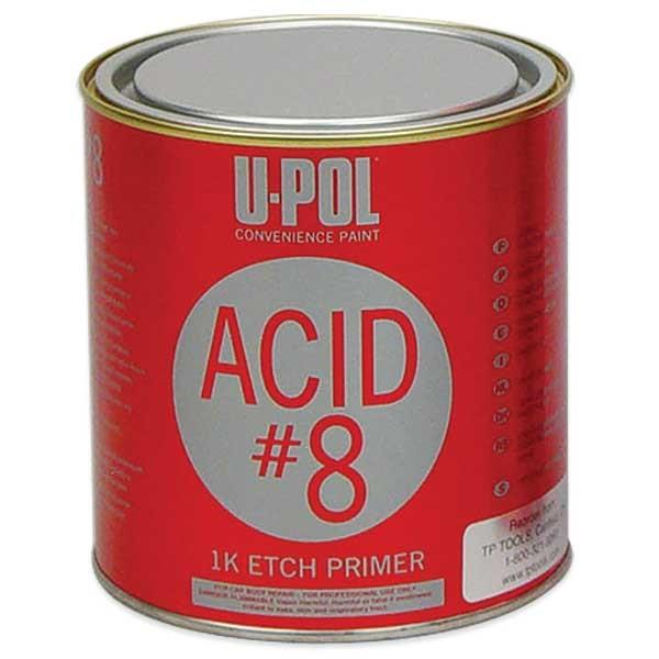 U-Pol® Acid #8 Self-Etch Primer (1K) - Lt Gray, Qt