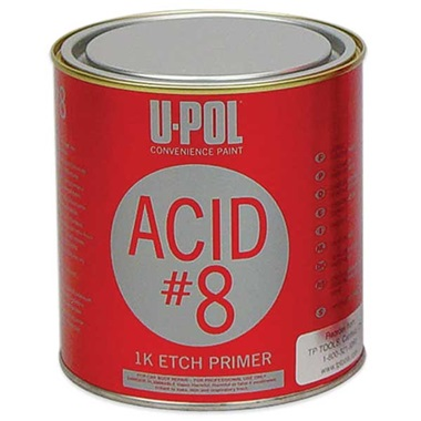 U-Pol® Acid #8 Self-Etch Primer (1K) - Lt Gray, Qt