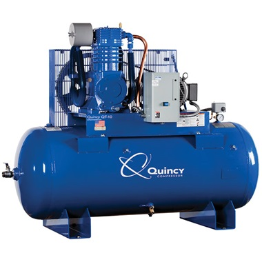 Quincy 10HP 2-Stage 120-Gal Air Compressor
