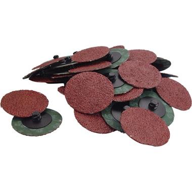 "2"" Quick-Change Sanding Discs - 36 Grit, 50 Pk"