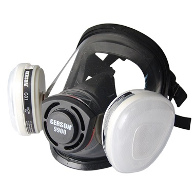 "Gerson® Full-Face ""One Size Fits All"" Respirator"
