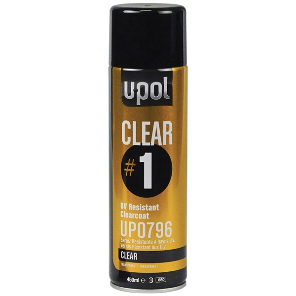 U-Pol® #1 High-Gloss Clear, 15 oz