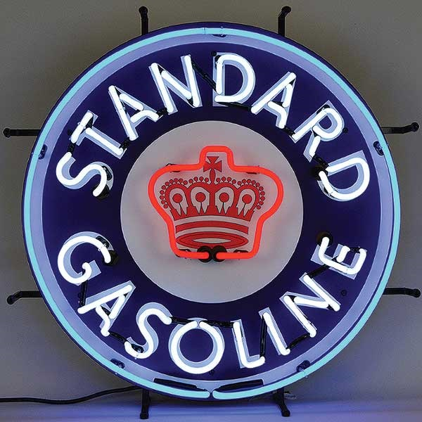 Standard Gasoline Neon Sign