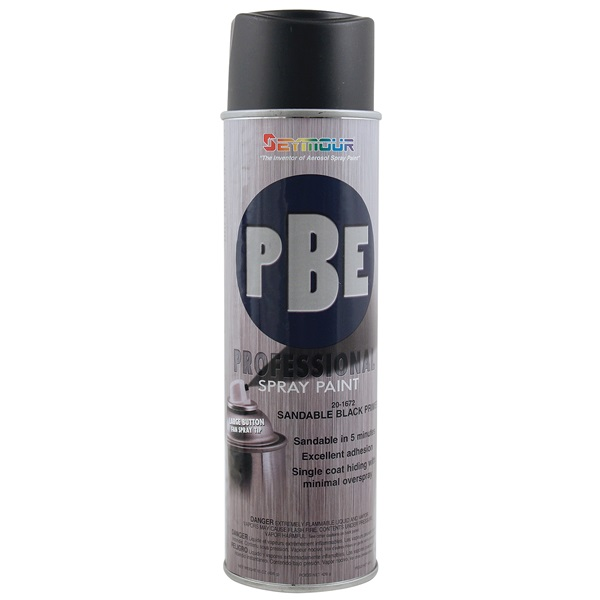 SEYMOUR® PBE Professional Sandable Primer - Black, 15 oz