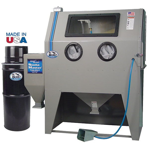 Soda Blast Cabinet Systems for Abrasive Blasting Cabinets - TP ...