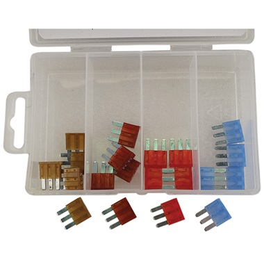 ATD 20-Pc 3-Blade Micro Fuse Assortment