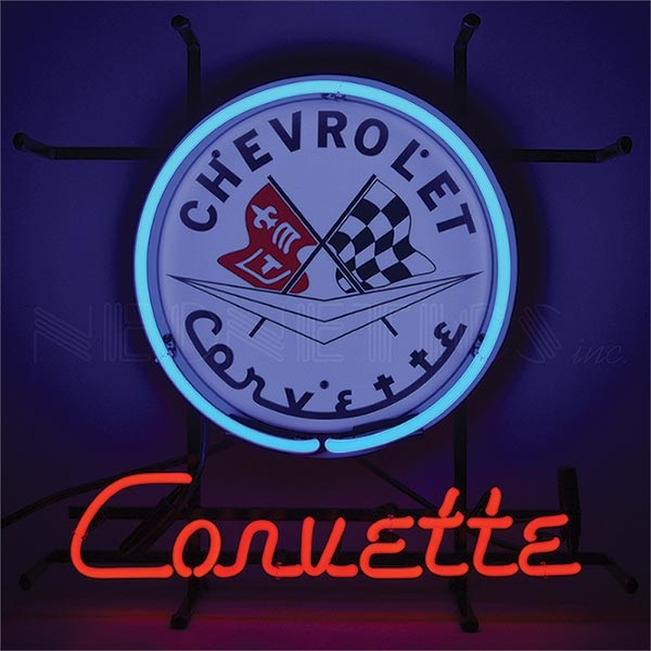 Corvette C1 Junior Neon Sign